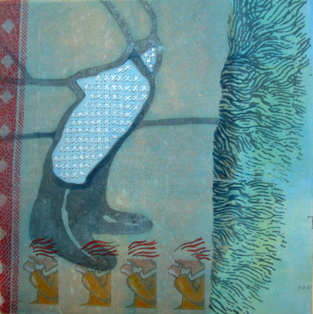 Detail of Memory Quilt